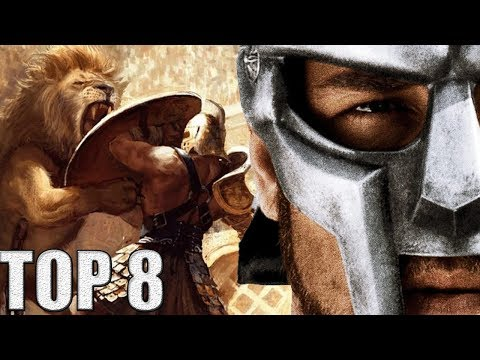8 Najjačih Rimskih Gladijatora