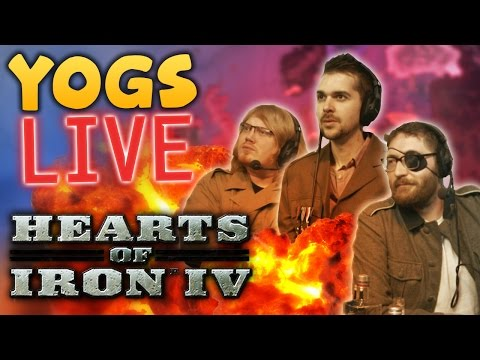 BACK TO WAR - HEARTS OF IRON 4 w/ Duncan, Lewis & Tom - 24th October 2016
