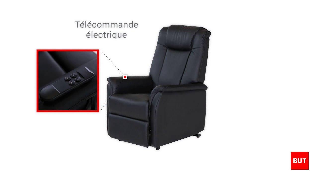 fauteuil relax et releveur electrique sand but