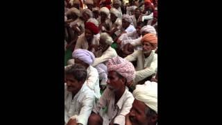 Ramlal Jat- MLA Bhilwara - addressing people of GOVERDHAN PURA- 2