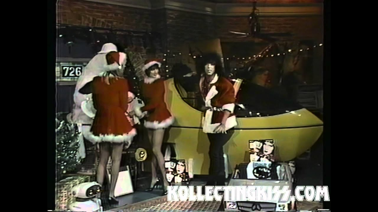 KISS Paul Stanley Christmas Santa VJ 1985 - YouTube