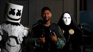 Marshmello x Imanbek (Ft. Usher) - Too Much (BTS Video)