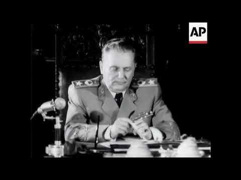 Interview with Marshal Josip Broz Tito (Rare)
