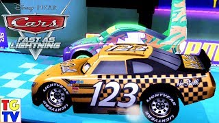Cars Fast as Lighting - Racing as Todd, Mater, Lightning McQueen