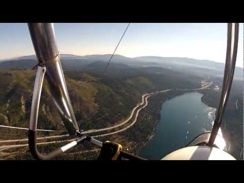 Flight over Donner Lake and Donner Pass