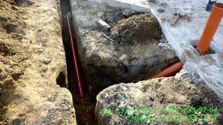 видео Укладка дренажной трубы своими руками: устройство, соединение, установка, монтаж