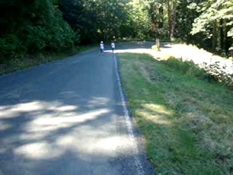 "Walking Down Illahee State Park ""Tokyo Drift"" Hill"