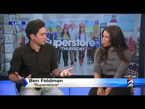 Cast of 'Superstore' talk about 2nd season of NBC comedy