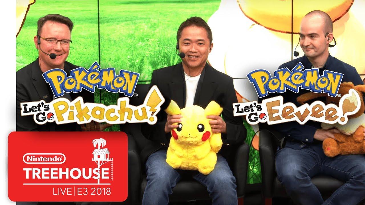 Pokemon Let´s Go Pikachu & Eevee - Nintendo Treehouse