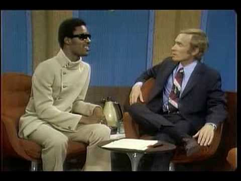 Cavett's crappy interview of Stevie Wonder