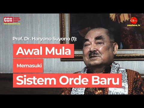 Prof. Dr. Haryono Suyono (1): Awal Mula Memasuki Sistem Orde Baru