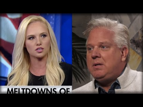 WOW! GLENN BECK JUST COMMITTED SUICIDE WITH WHAT HE JUST DID TO TOMI LAHREN - HE'S FINALLY LOST IT!