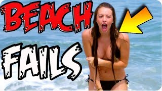 Repeat youtube video ✔Funniest Beach Fail Compilation 2015|8Fails