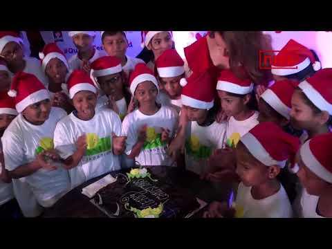Kangana Plays Santa For Underprivileged Kids