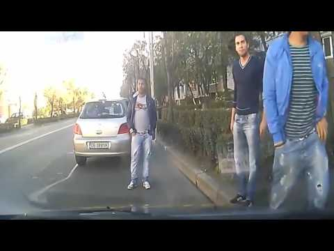 Attempted Insurance Fraud Dashcam