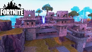 My 3 Castles on VillePlanche! Fortnite Saving the World