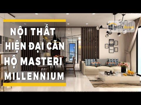 Thiết kế nội thất căn hộ Masteri Millennium - Quận 4 - Melydecor