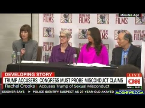 Download Youtube: Women Accusers Of Sexual Harassment By President Trump Call For Congressional Investigation