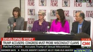 Women Accusers Of Sexual Harassment By President Trump Call For Congressional Investigation