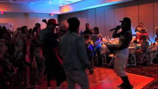 "V.I.C crashes wedding during ""Wobble"""