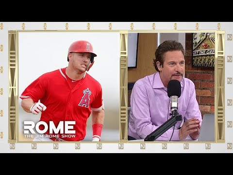 Mike Trout Is Having A REALLY Good Day   The Jim Rome Show