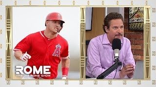 Jim Rome gives his take on the Los Angeles Angels giving Mike Trout a 12-year, $430 million contract extension and shutting down the Phillies attempt to sign ...