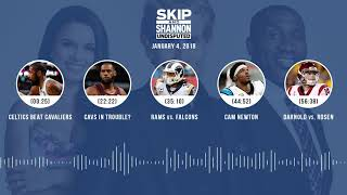 UNDISPUTED Audio Podcast (1.4.18) with Skip Bayless, Shannon Sharpe, Joy Taylor | UNDISPUTED thumbnail