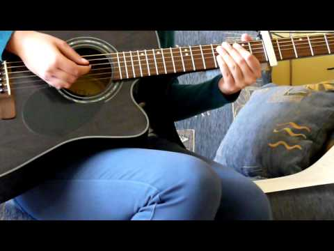 Taylor Swift Sparks Fly Guitar Cover Youtube