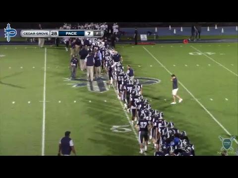 Pace Varsity Football vs Cedar Grove Saints