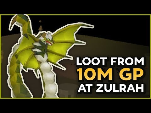 Loot from 10m at Zulrah w/ Budget Gear | Bossing til Broke #2