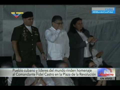 Discurso de Nicolás Maduro en el homenaje a Fidel Castro tras su fallecimiento