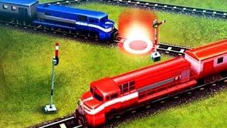 Поезда и паровозики для детей. Прогулка! Развивающий мультфильм