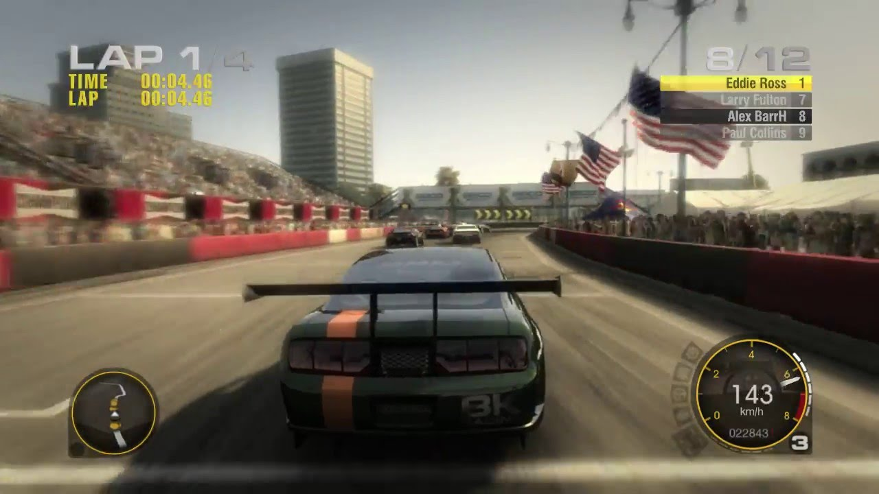 Race Driver Grid Gameplay End Of The Rookie Tier Xlr8 Ebay