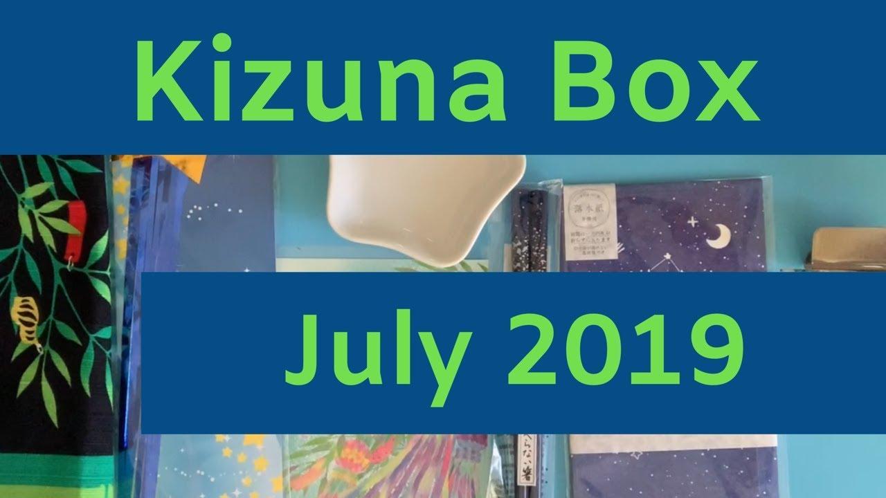 Kizuna Box July 2019 Japanese Lifestyle Box