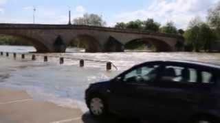 Crue et inondation à Joigny et Villeneuve-sur-Yonne
