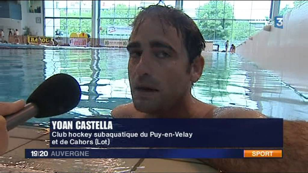 Reportage HockeySubaquatique Championnat De France D1 Clermont 2011
