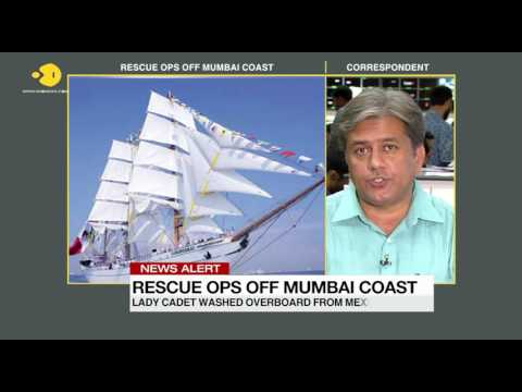 Indian Navy join in on search for Mexican ship