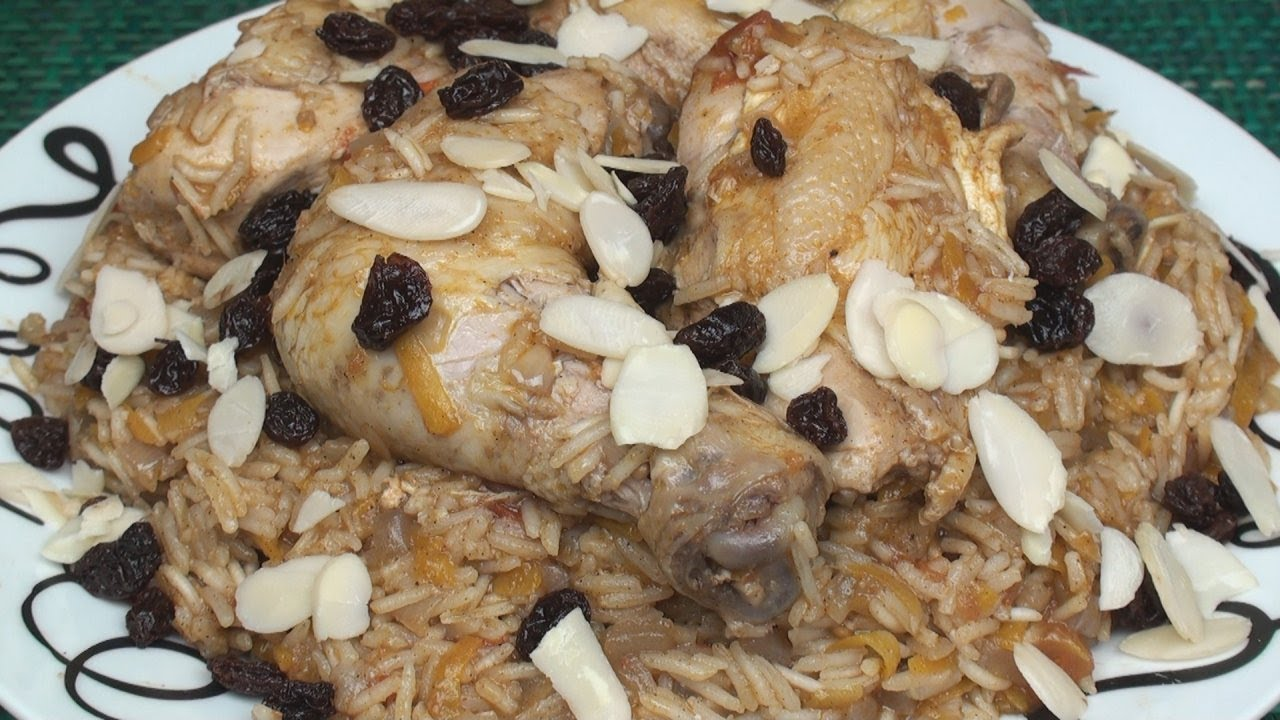 Kabsa كبسة Recipe An Arabian Dish Of Rice Meat And Spices Youtube