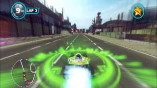 Sonic & All-Stars Racing Transformed (PS3): All-Star Move Compilation! (All All-Star Moves)