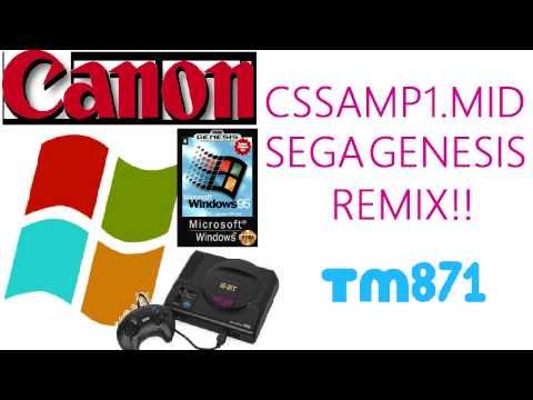 Windows & Canon  - Cssamp1.mid: Sega Genesis Remix