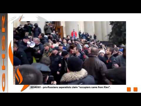 UKRAINE CRISIS - East Ukraine - 'They Came From Kiev' II - Kharkiv: The video