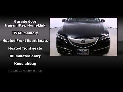 2015 acura tlx 2 4 8 dct p aws with technology package youtube. Black Bedroom Furniture Sets. Home Design Ideas
