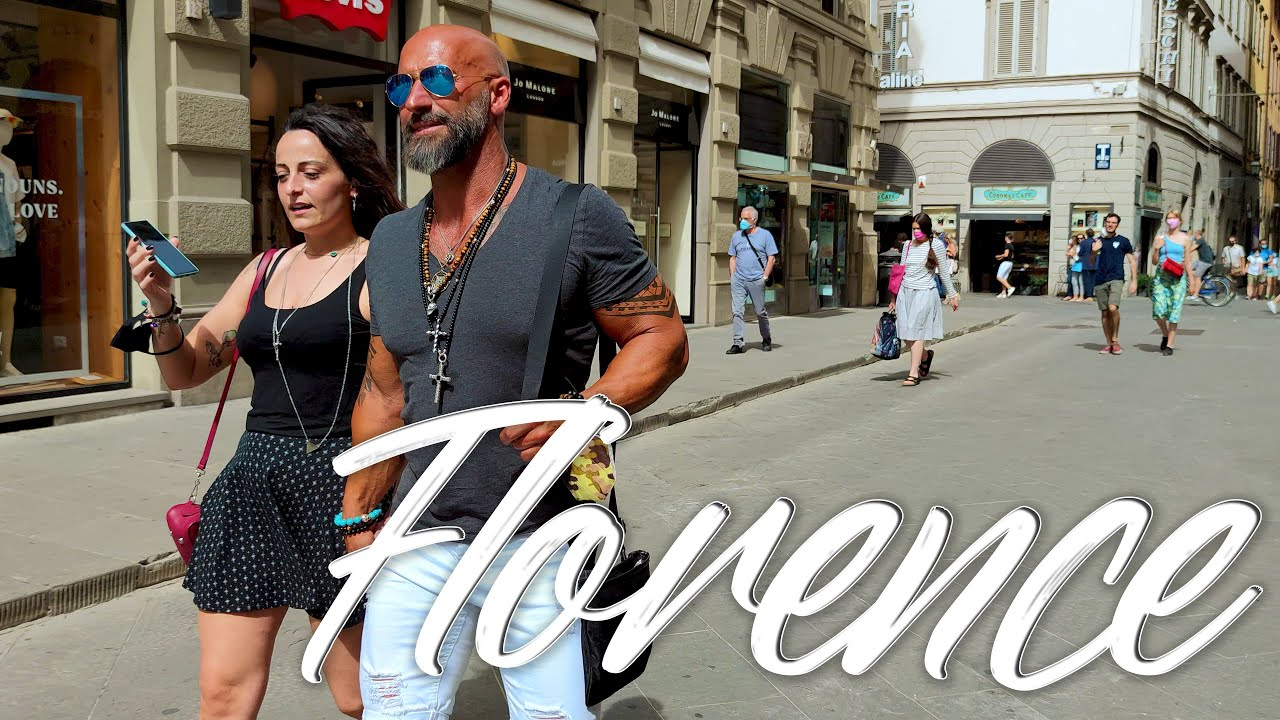 HOT Florence. Italy  - 4k Walking Tour around the City - Travel Guide. trends, moda #Italy