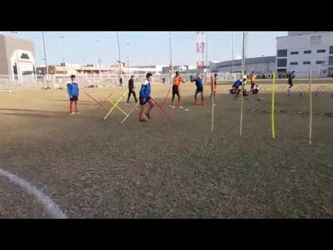Different methods of strength and explosive power training in football