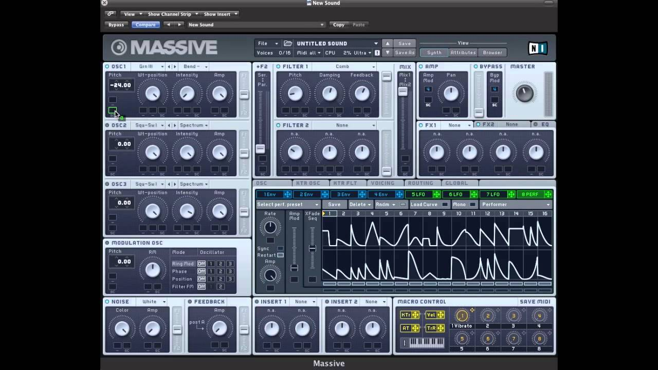 Download Massive Tutorial - Moving Dubstep Bass