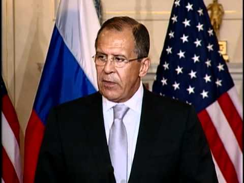 Secretary Clinton Delivers Remarks with Russian Foreign Minister Lavrov