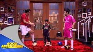Tristan Alif pesepak bola International berumur 10 tahun