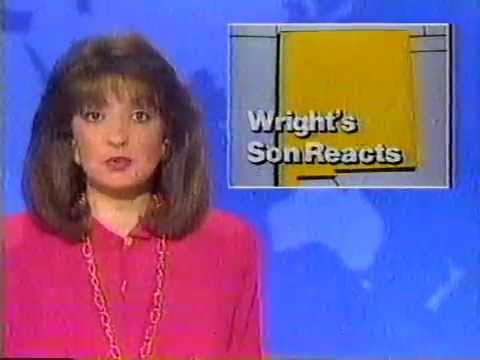 KTVT Channel 11 Headline News - Jim Wright resigns May 1989