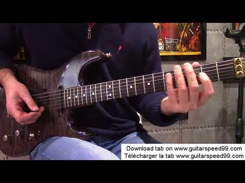 Cours de guitare - L'envie (Johnny Hallyday)