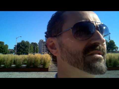 Interstate Traveler visits Michigan Central Depot 2011